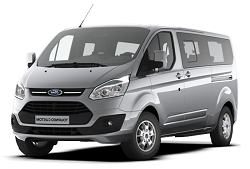 Ford Transit 9 personen<text>